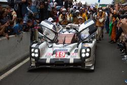 2015 Le Mans winner #19 Porsche Team Porsche 919 Hybrid: Nico Hulkenberg, Nick Tandy, Earl Bamber