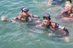 Third place Thierry Neuville and Nicolas Gilsoul, Hyundai i20 WRC, Hyundai Motorsport
