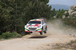 Paolo Andreucci en Anna Andreucci, Peugeot 208 R5