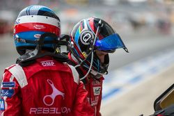 #12 Rebellion Racing Rebellion R-One: Nicolas Prost swapping with Nick Heidfeld