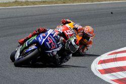 Jorge Lorenzo, Yamaha Factory Racing e Marc Marquez, Repsol Honda Team