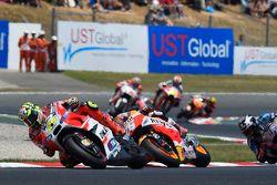 Andrea Iannone, Ducati Team, Dani Pedrosa, Repsol Honda Team e Scott Redding, Marc VDS Racing Honda