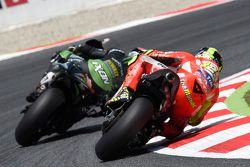 Bradley Smith, Tech 3 Yamaha y Andrea Iannone, Ducati Team
