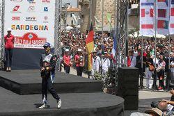 El ganador, Sébastien Ogier, Volkswagen Motorsport