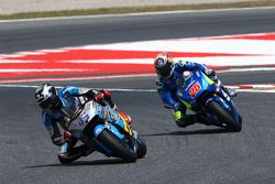 Scott Redding, Marc VDS Racing Honda y Maverick Viñales, Team Suzuki MotoGP