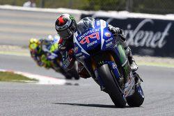 Jorge Lorenzo e Valentino Rossi, Yamaha Factory Racing