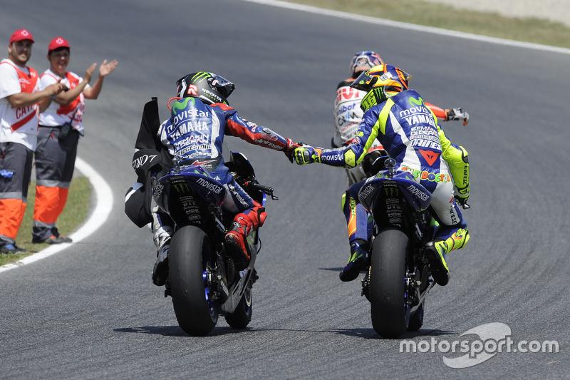 GP de Catalunya 2015 - Victoria de Lorenzo por delante de Rossi