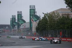 Rennstart: Will Power, Team Penske, Chevrolet, in Führung