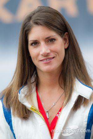 Piloto y reportero de RTL alemana, Cyndie Allemann