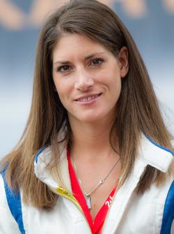 RTL-Reporterin und Rennfahrerin Cyndie Allemann