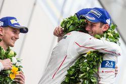 LMP1 podium: ganadores, Porsche Team: Nico Hulkenberg, Nick Tandy, Earl Bamber