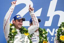 LMP1 pódio: vencedor Porsche Team: Nick Tandy