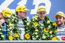 LMP2 podium: class winners #47 KCMG ORECA 05: Matthew Howson, Richard Bradley, Nicolas Lapierre