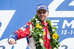 LMGT Pro podium: tercer lugar, #51 AF Corse Ferrari 458 GTE: Gianmaria Bruni