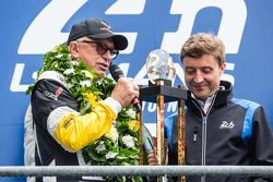 LMGT Pro podium: Corvette Racing, Doug Fehan