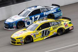 Greg Biffle, Roush Fenway Racing Ford y Ricky Stenhouse Jr., Roush Fenway Racing Ford