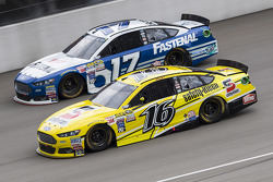 Greg Biffle, Roush Fenway Racing Ford y Ricky Stenhouse Jr., Roush Fenway Racing Ford