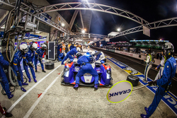 Pit stop for #37 SMP Racing BR01: Mikhail Aleshin, Kirill Ladygin, Anton Ladygin