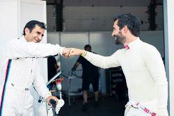 Alex Zanardi und Timo Glock, ROAL Motorsport