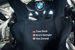 Timo Glock, Alex Zanardi, Bruno Spengler testano la BMW Z4 GT3 per il team ROAL Motorsport