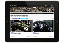 Motorsport.com - Racefans.TV, скриншот