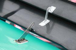 Chevrolet detalle kit aerodinámico