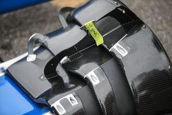 Detalhe do Kit aerodinâmico da Honda
