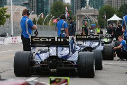 Carlin Racing cars ready for qualifying