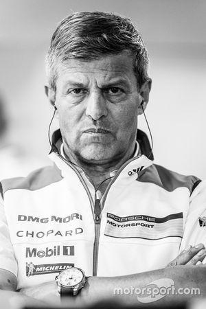 Porsche Team: Fritz Enzinger, Jefe de Departamento, LMP1