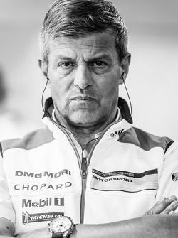 Porsche Team: Fritz Enzinger, Capo del Dipartimento, LMP1