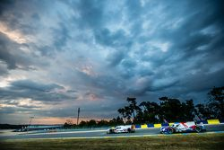 #8 Audi Sport Team Joest Audi R18 e-tron quattro : Lucas di Grassi, Loic Duval, Oliver Jarvis, #37 SMP Racing BR01 : Mikhail Aleshin, Kirill Ladygin, Anton Ladygin
