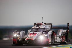 #9 Audi Sport Team Joest Audi R18 e-tron quattro : René Rast, Filipe Albuquerque, Marco Bonanomi