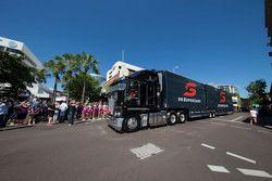 Gli autotrasportatori arrivano a Darwin