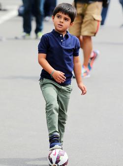 Felipinho Massa, figlio di Felipe Massa, Williams