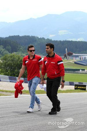 Fabio Leimer, Manor F1 Team piloto reserva