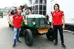 Will Stevens ve Roberto Merhi, Manor F1 Takımı ile yerel Spielberg misafirperverliği