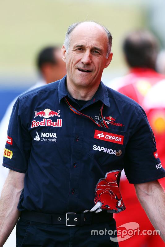 Franz Tost, chefe da Scuderia Toro Rosso