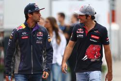 Даниэль Риккардо, Red Bull Racing и Карлос Сайнс-мл., Scuderia Toro Rosso