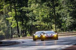 #62 Scuderia Corsa Ferrari 458 GTE : Bill Sweedler, Townsend Bell, Jeff Segal