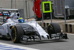 Felipe Massa, Williams FW37 - front wing