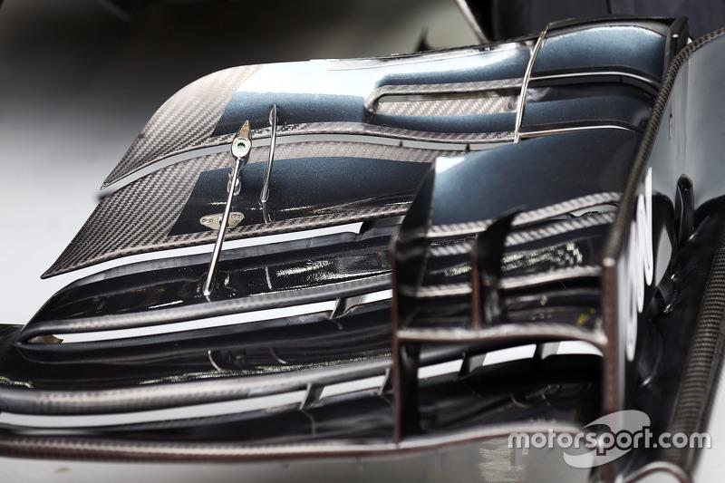 McLaren MP4-30, Frontflügel von Fernando Alonso, McLaren