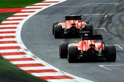Will Stevens, Manor F1 Team, vor Teamkollege Roberto Merhi, Manor F1 Team