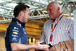 Christian Horner, Red Bull Racing, Team Principal avec Dietrich Mateschitz, Président et fondateur de Red Bull