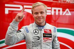 Il vincitore della Pole Felix Rosenqvist, Prema Powerteam Dallara F312 Mercedes-Benz