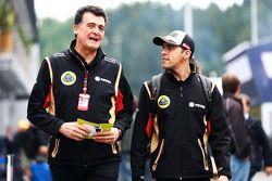 Federico Gastaldi, Lotus F1 Team, jefe de equipo con Pastor Maldonado, Lotus F1 Team
