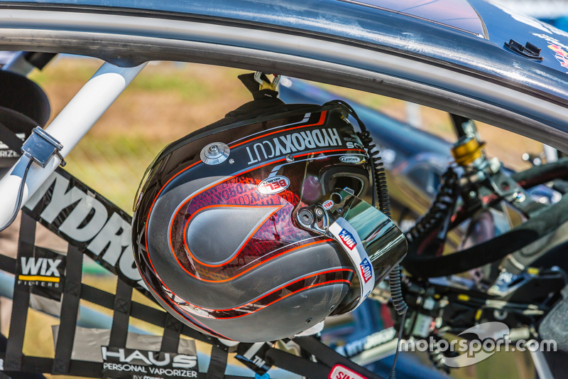 Helmet of Nelson Piquet Jr.