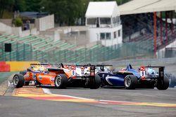Michele Beretta, Mücke Motorsport, Dallara F312 Mercedes-Benz e Tatiana Calderon, Carlin, Dallara F312 Volkswagen