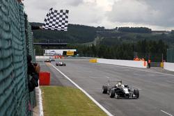 Charles Leclerc, Van Amersfoort Racing Dallara F312 Volkswagen takes the win