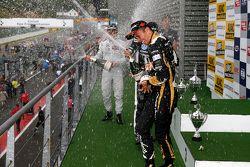 Podyum: Yarış galibi Charles Leclerc, ikinci Felix Rosenqvist, üçüncü Alexander Albon