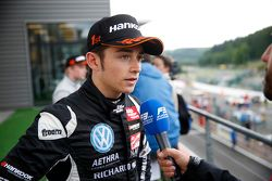 Yarış galibi Charles Leclerc, Van Amersfoort Racing Dallara F312 Volkswagen